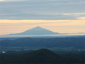 パンケ山からの展望