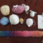 羊毛加工体験